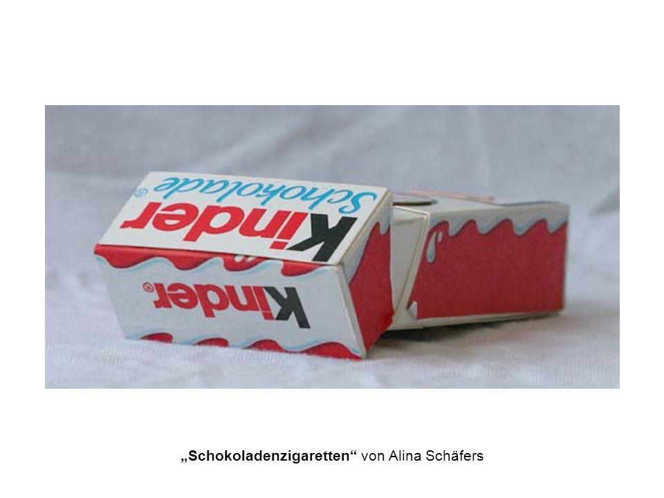 """""""Schokoladenzigaretten von Alina Schäfers"""