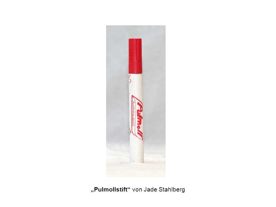 """""""Pulmollstift von Jade Stahlberg"""