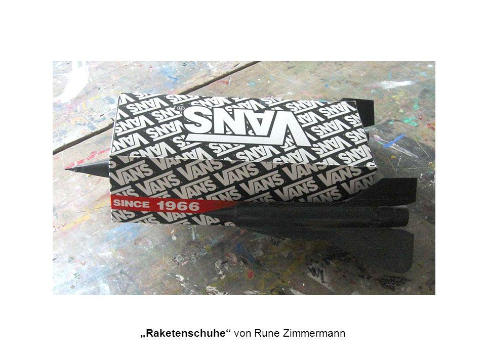 """""""Raketenschuhe von Rune Zimmermann"""