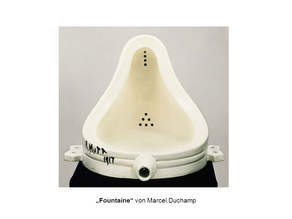 """Fountaine von Marcel Duchamp"