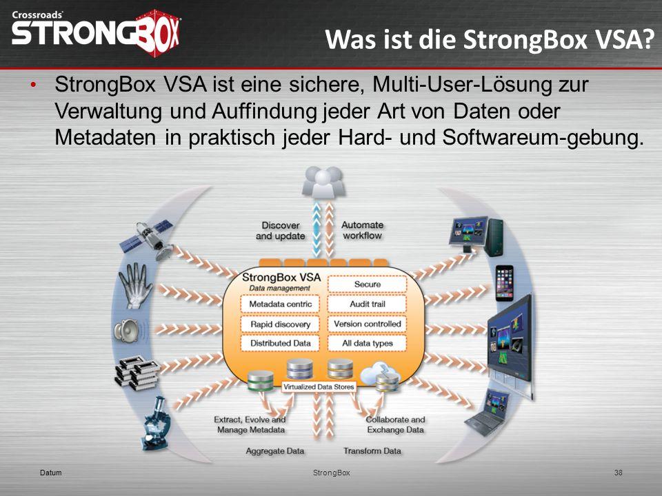 Was ist die StrongBox VSA