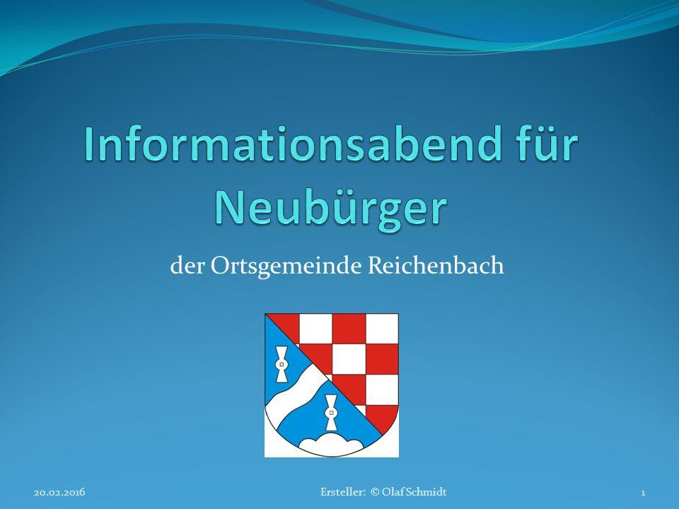 Informationsabend für Neubürger