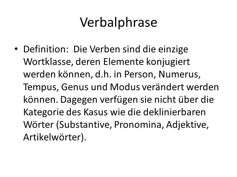 Verbalphrase