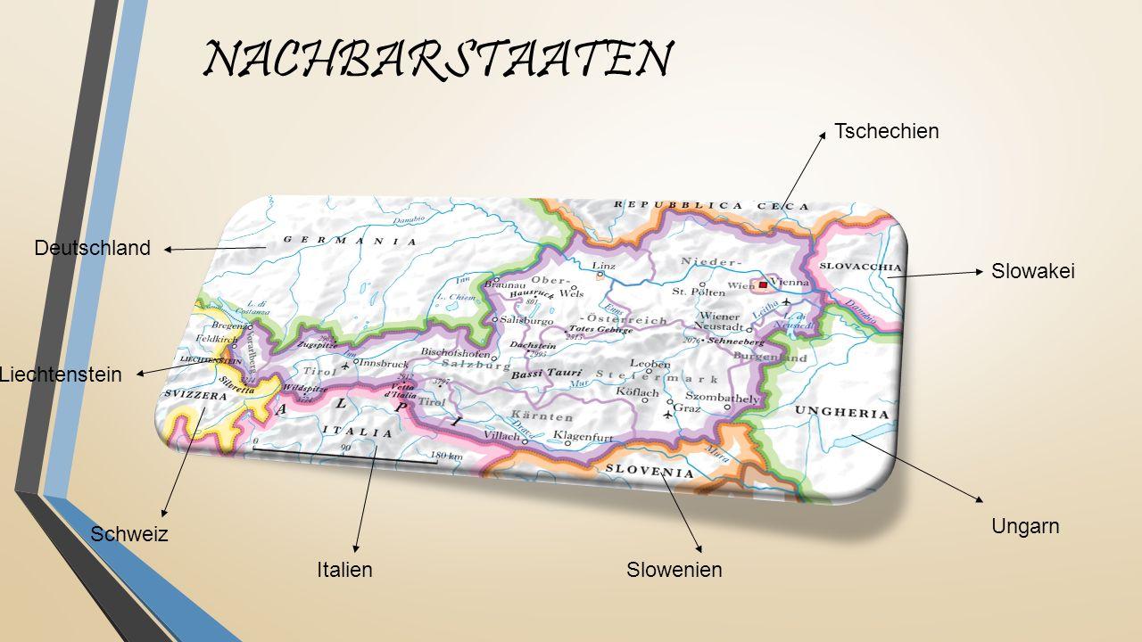 NACHBARSTAATEN Tschechien Deutschland Slowakei Liechtenstein Ungarn
