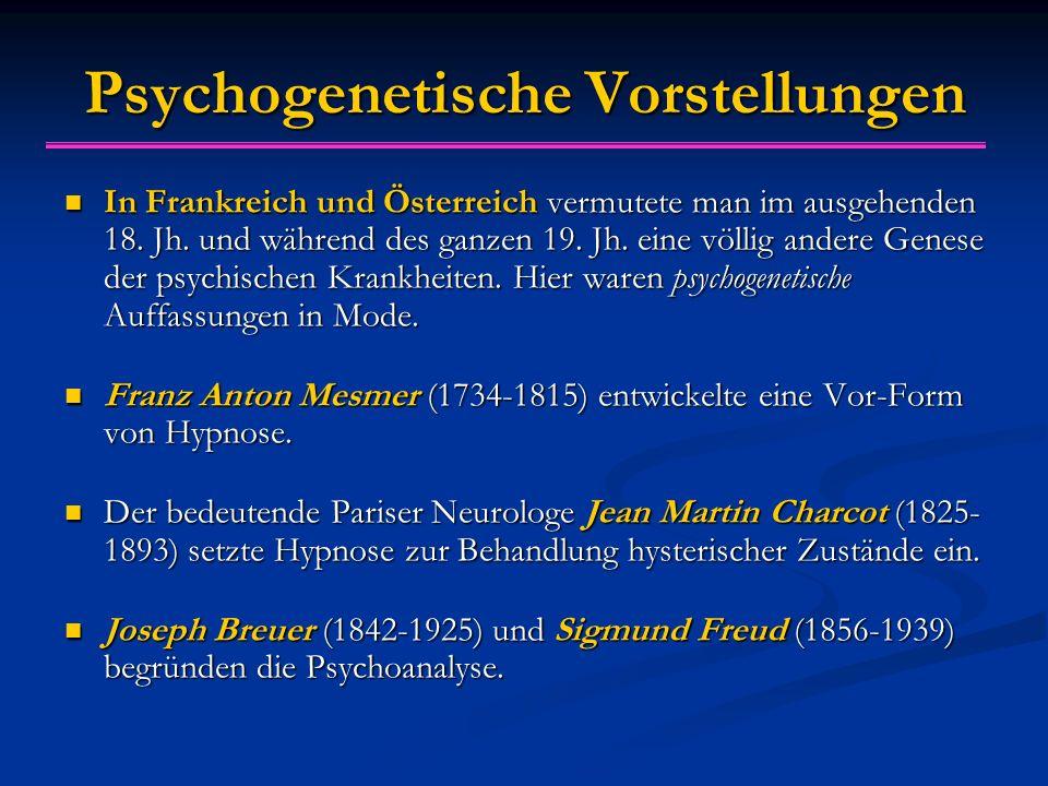 Psychogenetische Vorstellungen