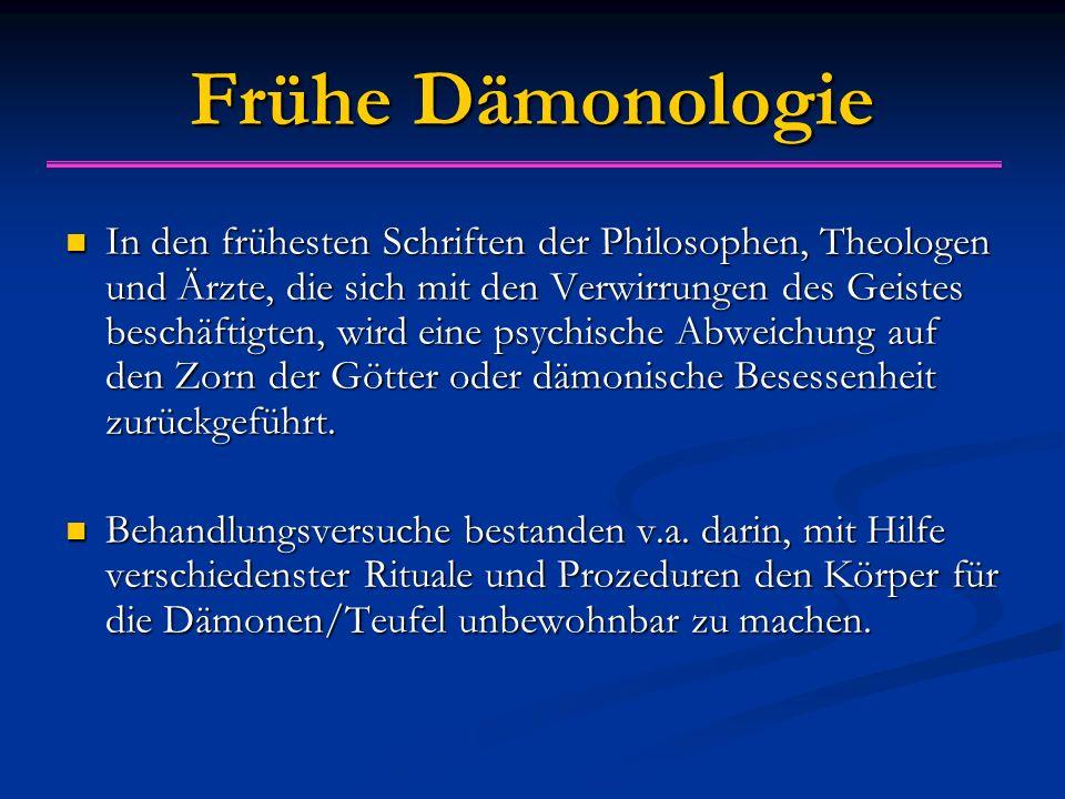 Frühe Dämonologie