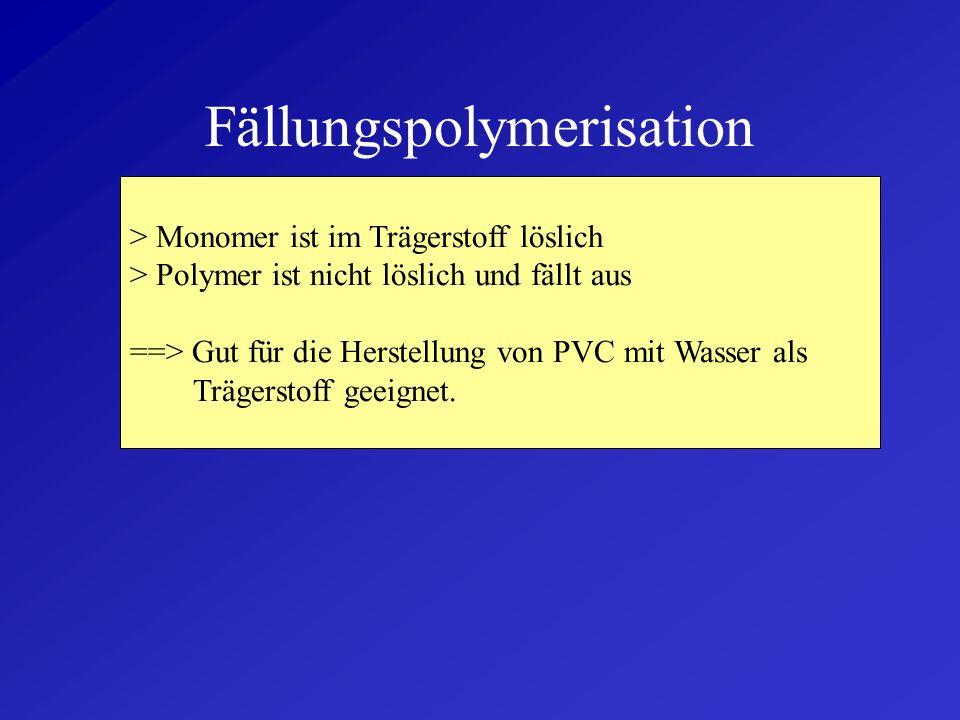 Fällungspolymerisation