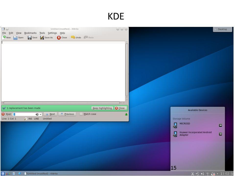KDE 15