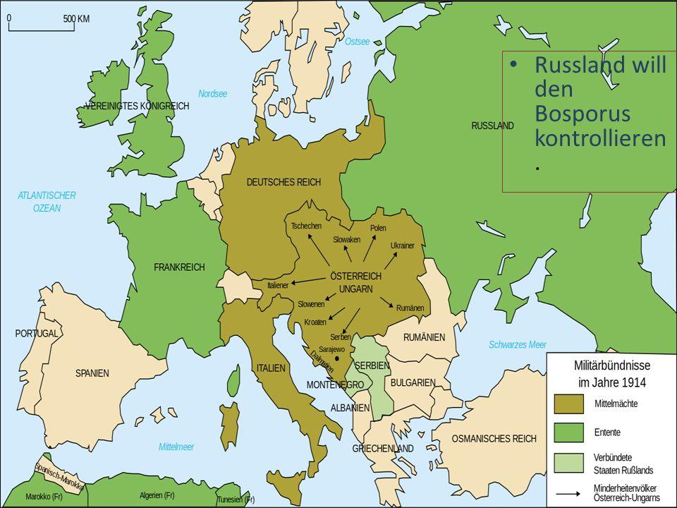 Russland will den Bosporus kontrollieren.