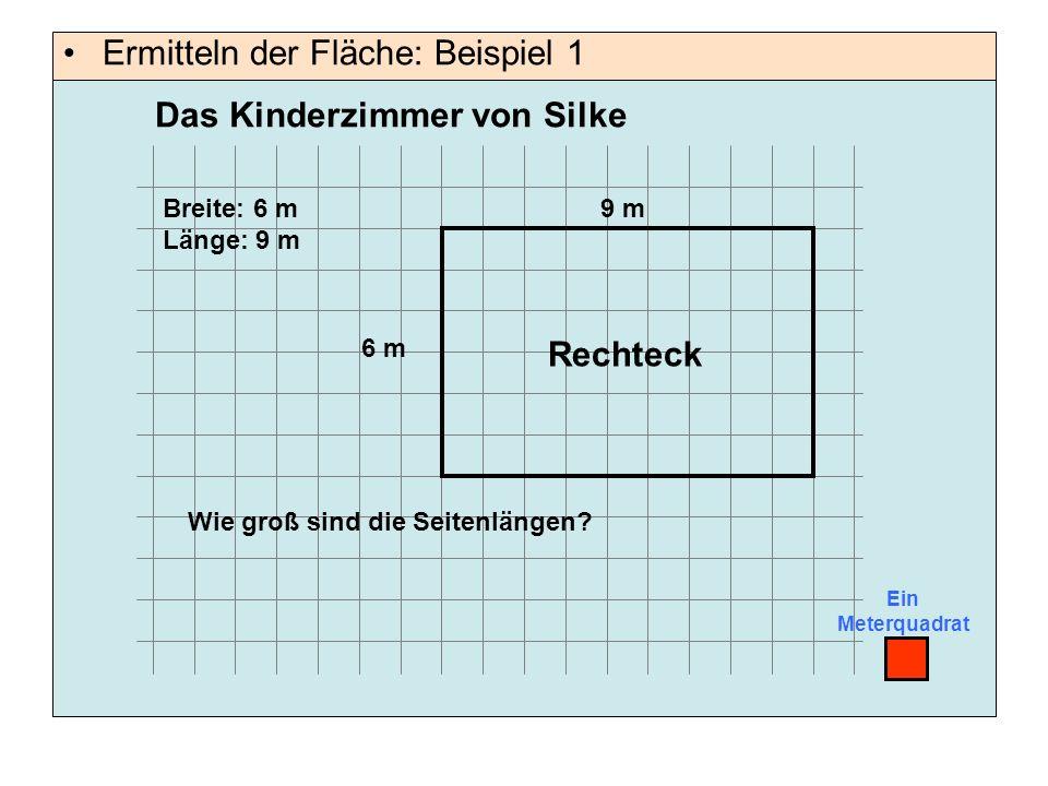 Ermitteln der Fläche: Beispiel 1