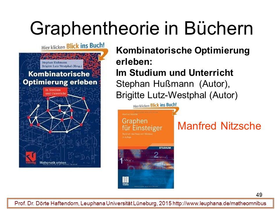 Graphentheorie in Büchern