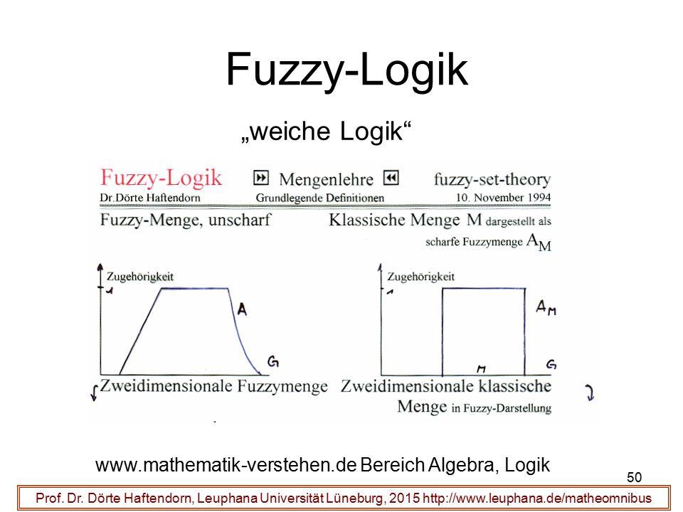 "Fuzzy-Logik ""weiche Logik"