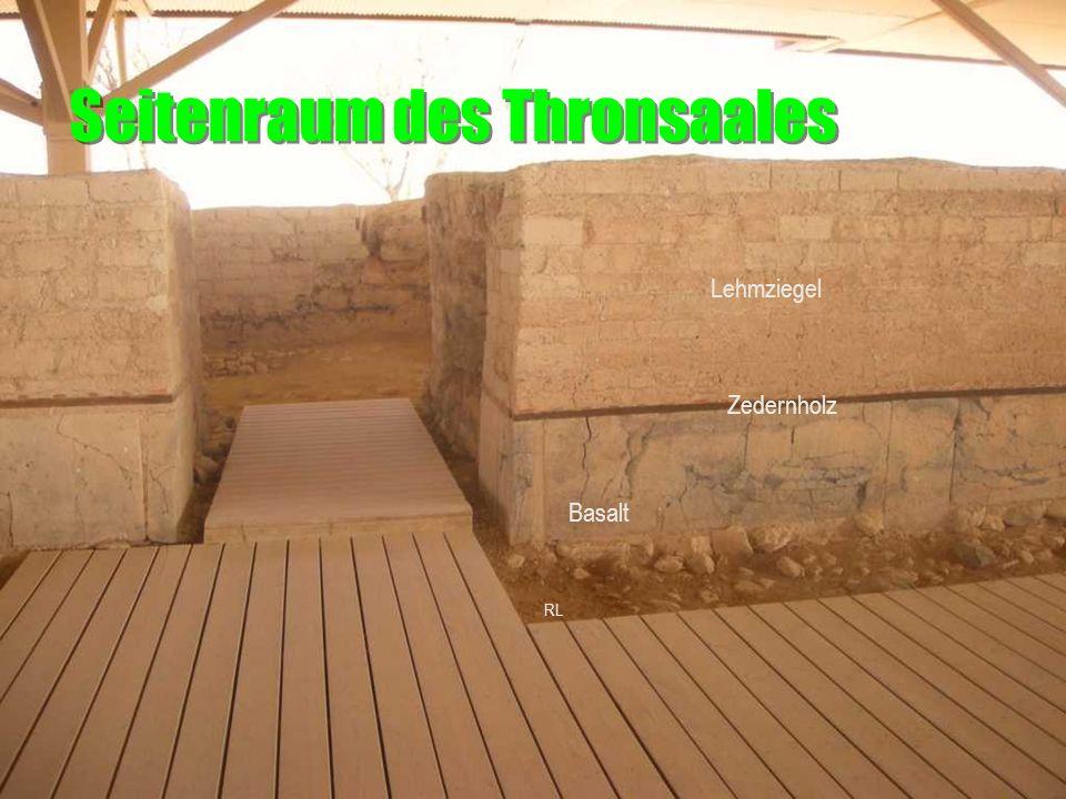 Seitenraum des Thronsaales