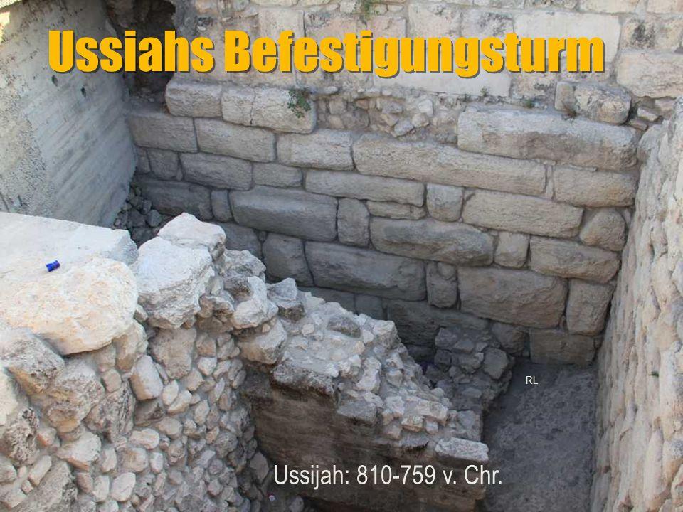 Ussiahs Befestigungsturm