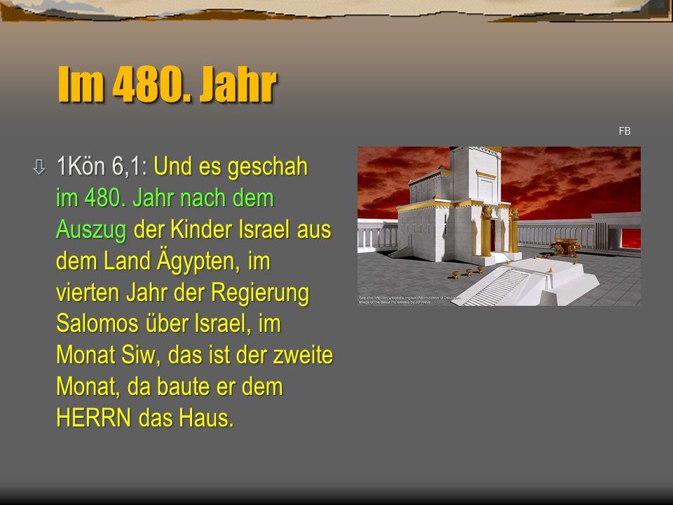 Im 480. Jahr FB.