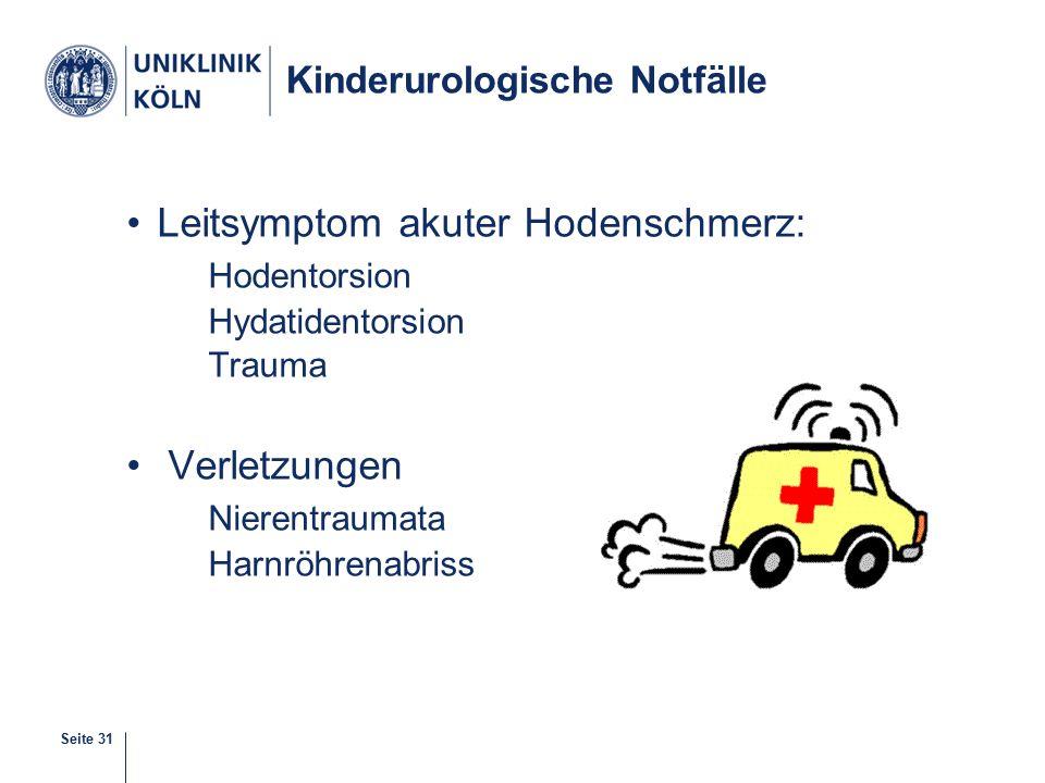 Kinderurologische Notfälle