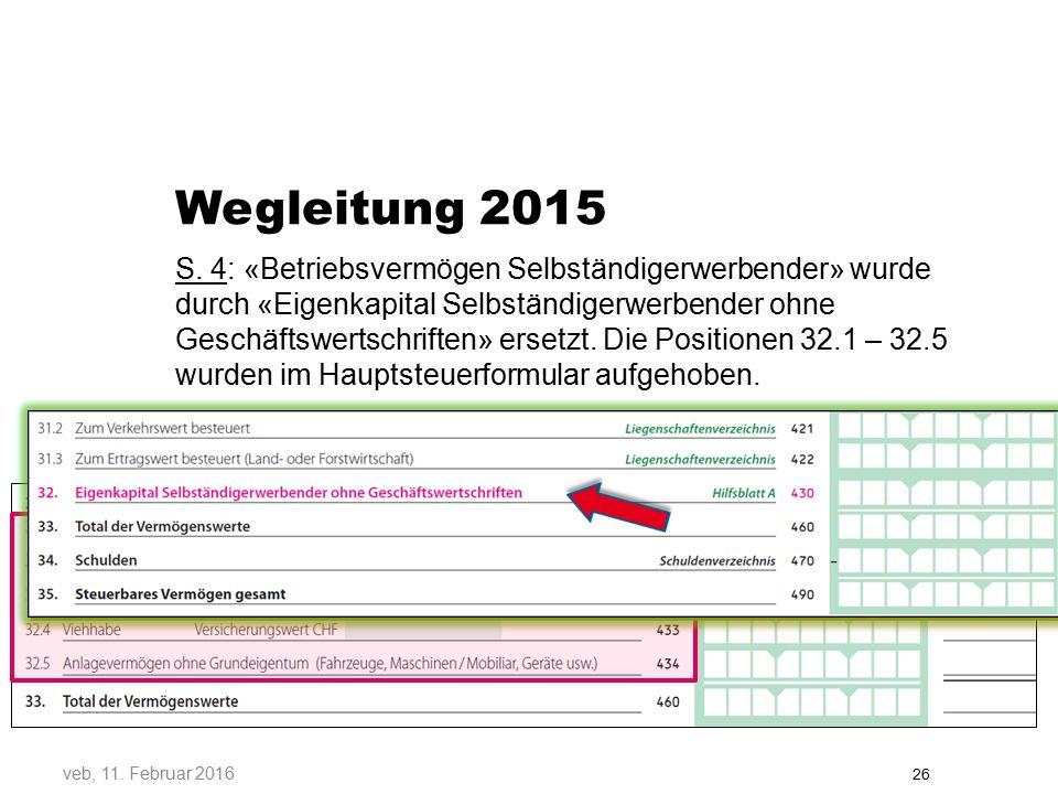 Wegleitung 2015