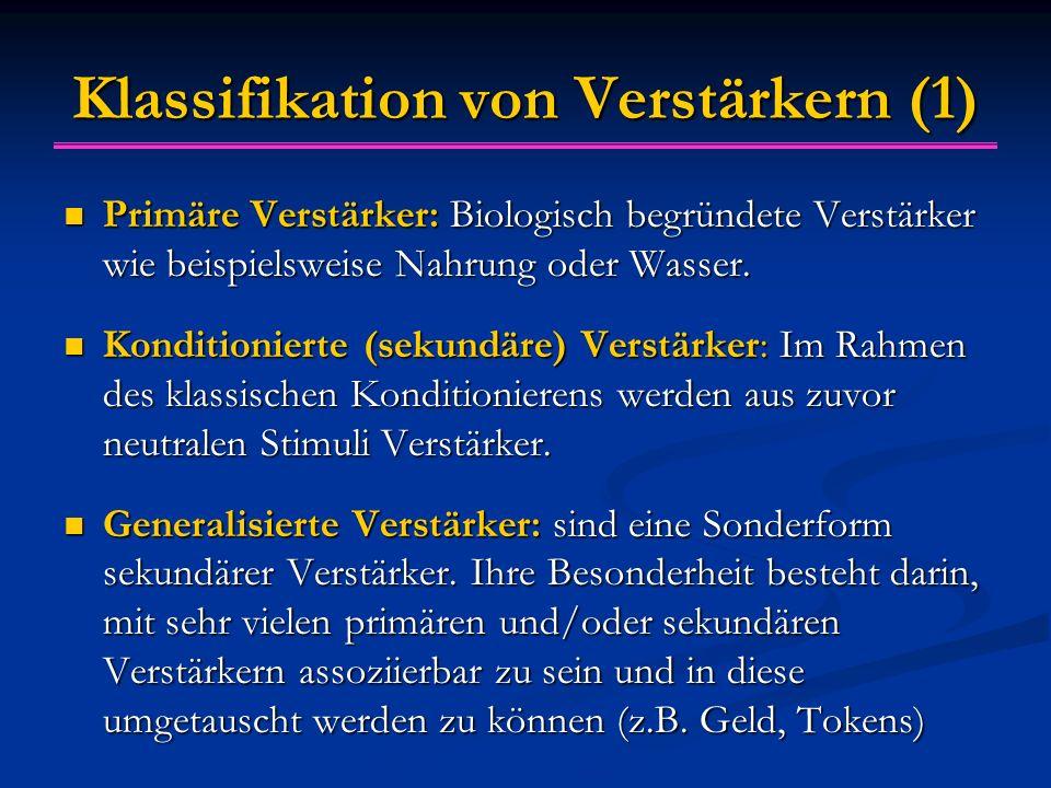 Klassifikation von Verstärkern (1)
