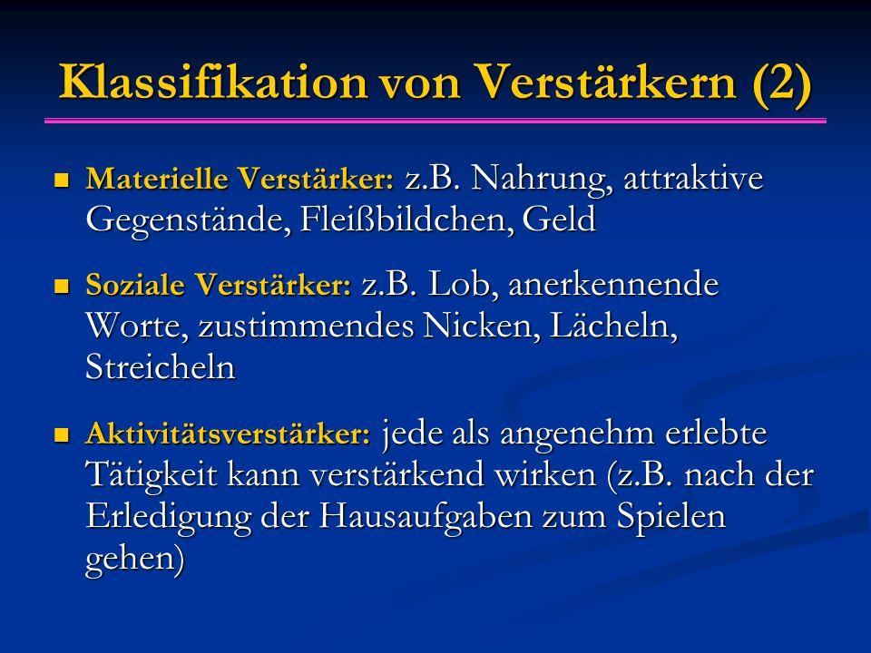 Klassifikation von Verstärkern (2)