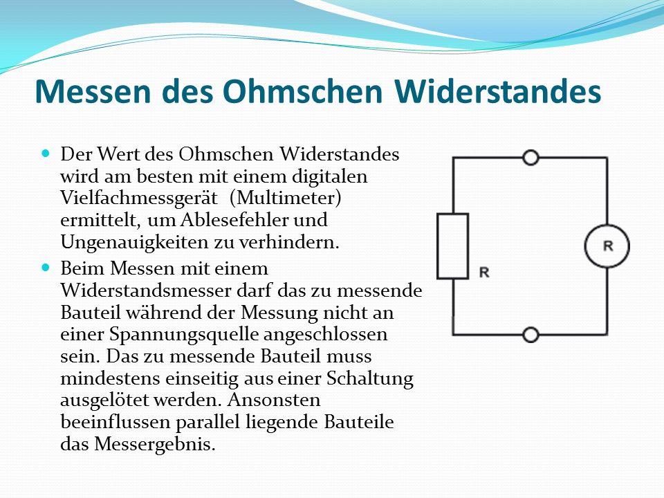 Groß Ohm Gesetz Schaltung Bilder - Elektrische ...