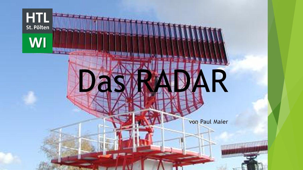 Das RADAR von Paul Maier
