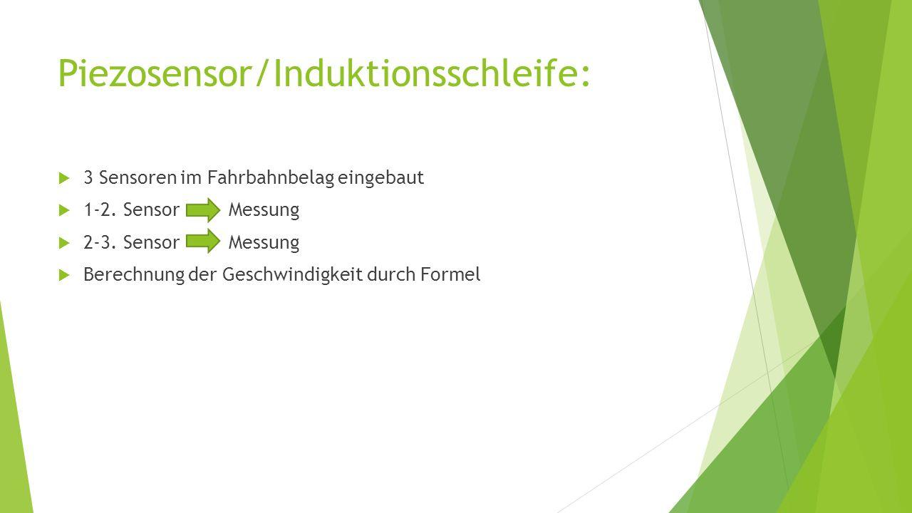 Piezosensor/Induktionsschleife: