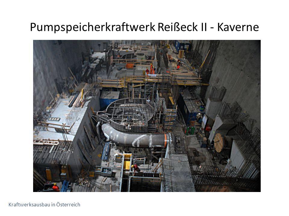 Pumpspeicherkraftwerk Reißeck II - Kaverne