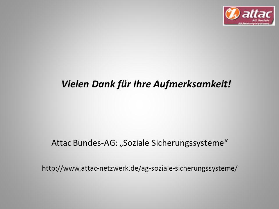 "Attac Bundes-AG: ""Soziale Sicherungssysteme"