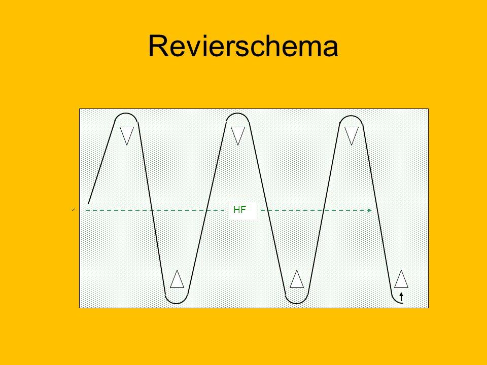Revierschema HF