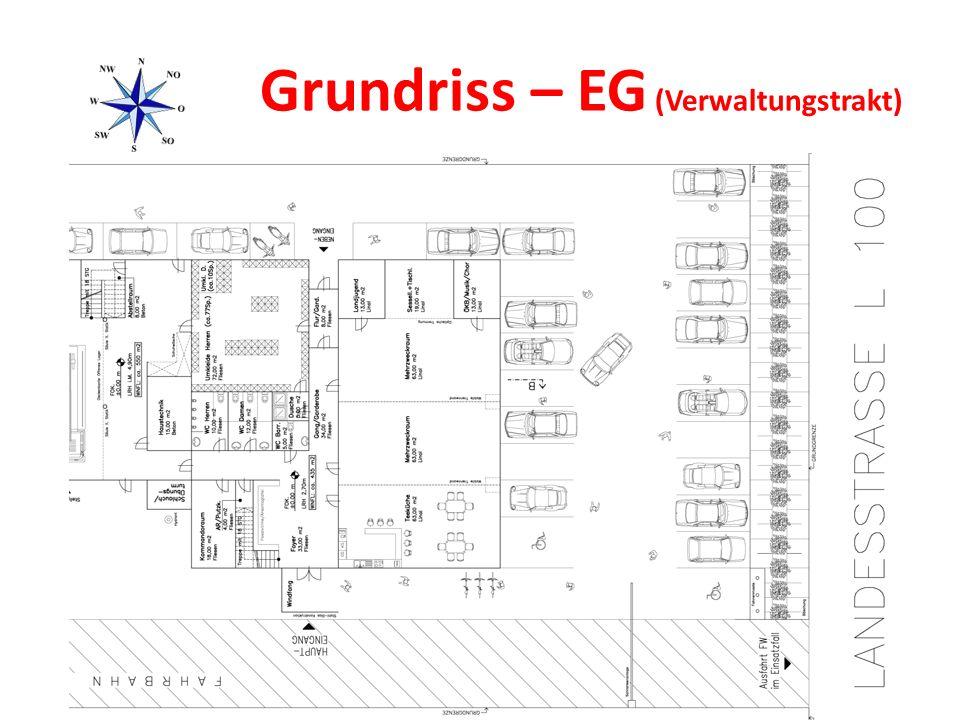 Grundriss – EG (Verwaltungstrakt)