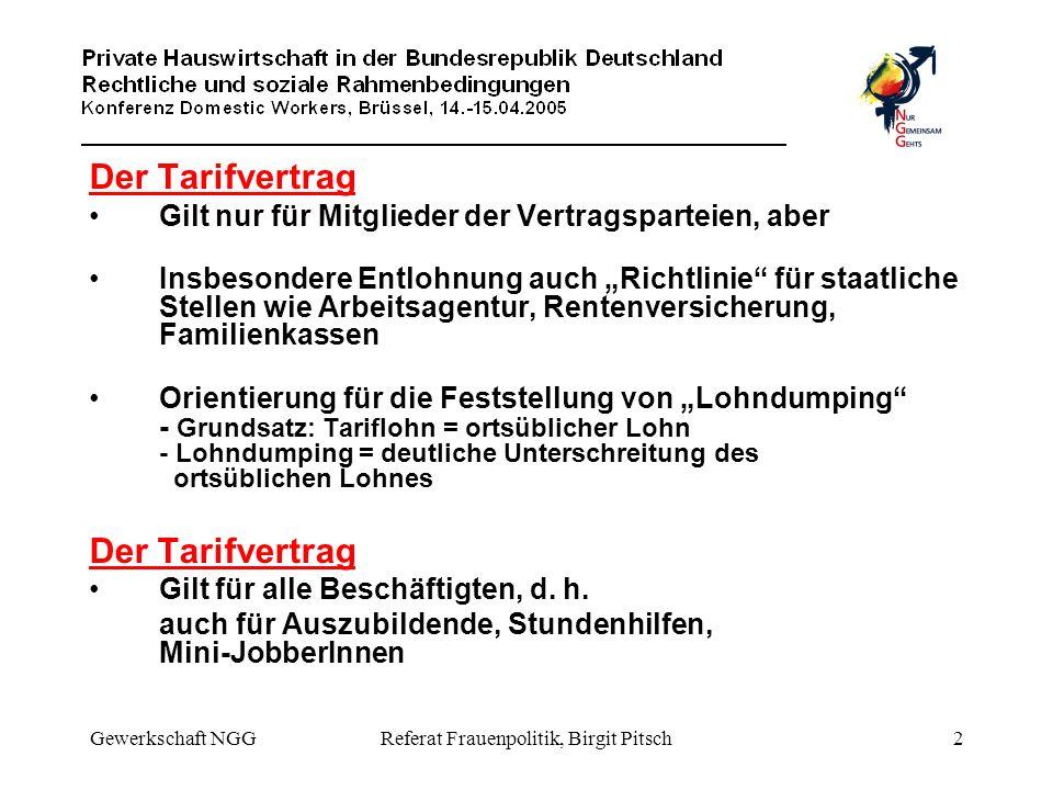 Referat Frauenpolitik, Birgit Pitsch