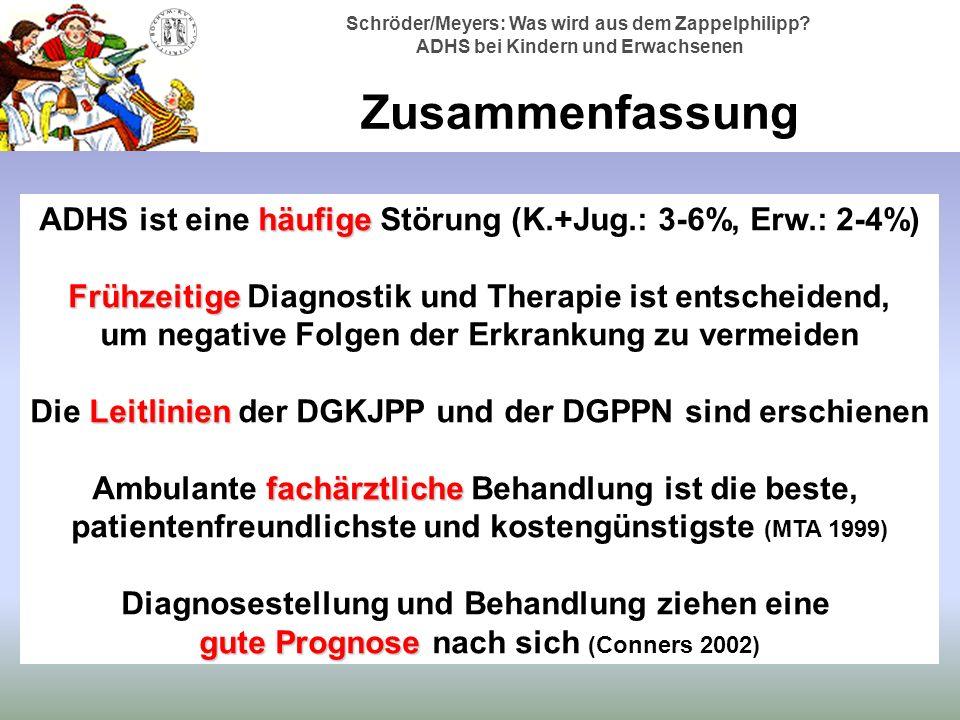 Schröder/Meyers: Was wird aus dem Zappelphilipp