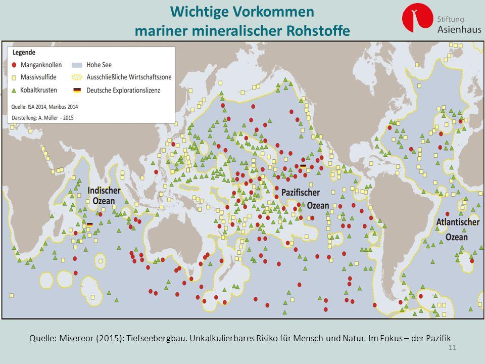 mariner mineralischer Rohstoffe