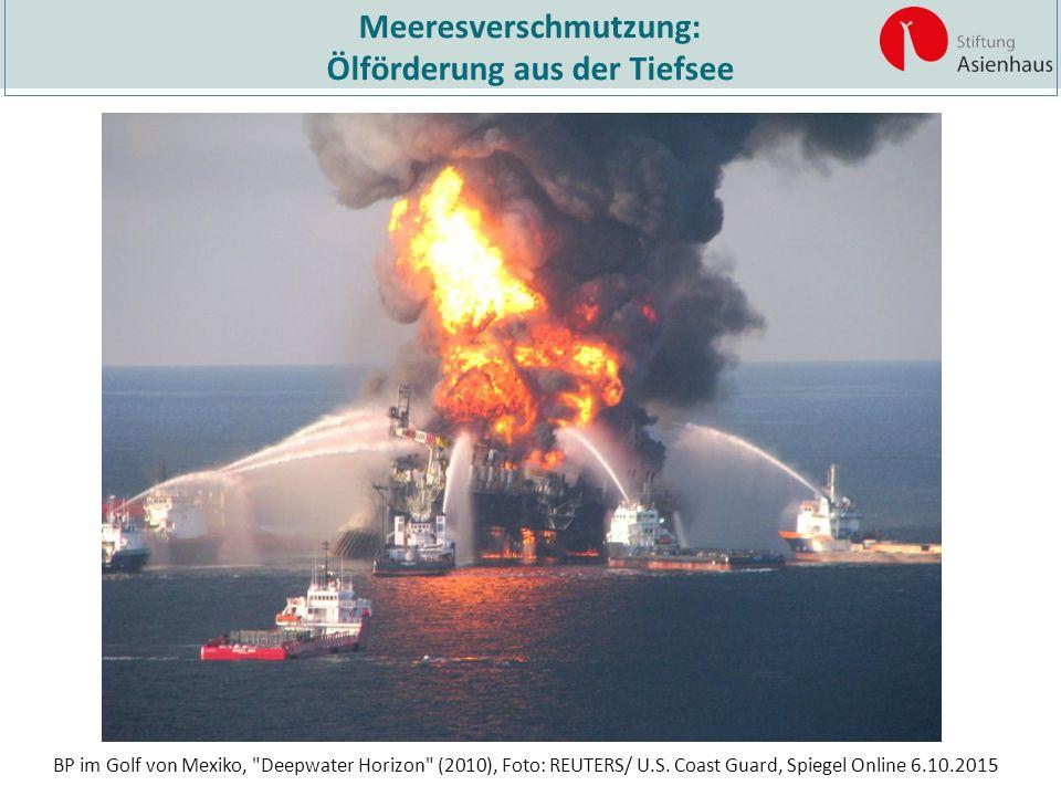 Meeresverschmutzung: Ölförderung aus der Tiefsee