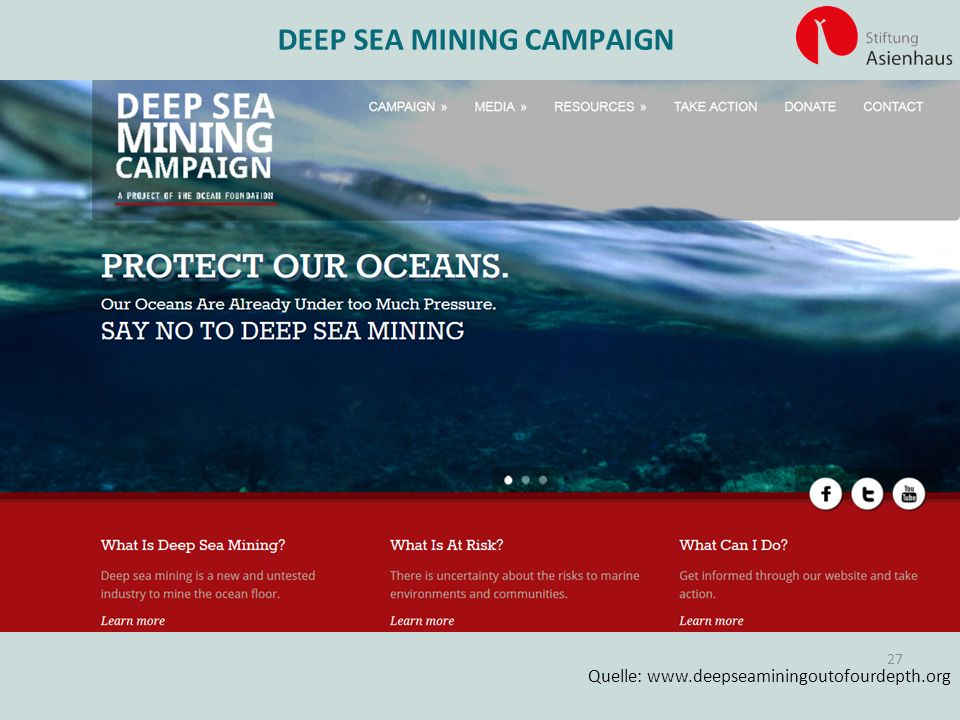 DEEP SEA MINING CAMPAIGN