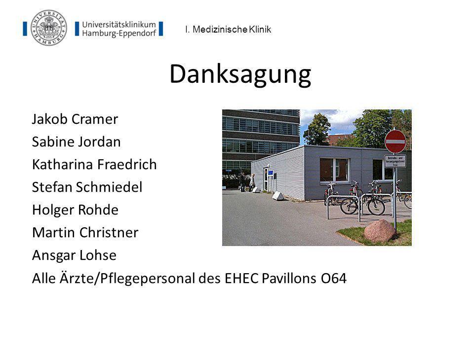 Danksagung Jakob Cramer Sabine Jordan Katharina Fraedrich