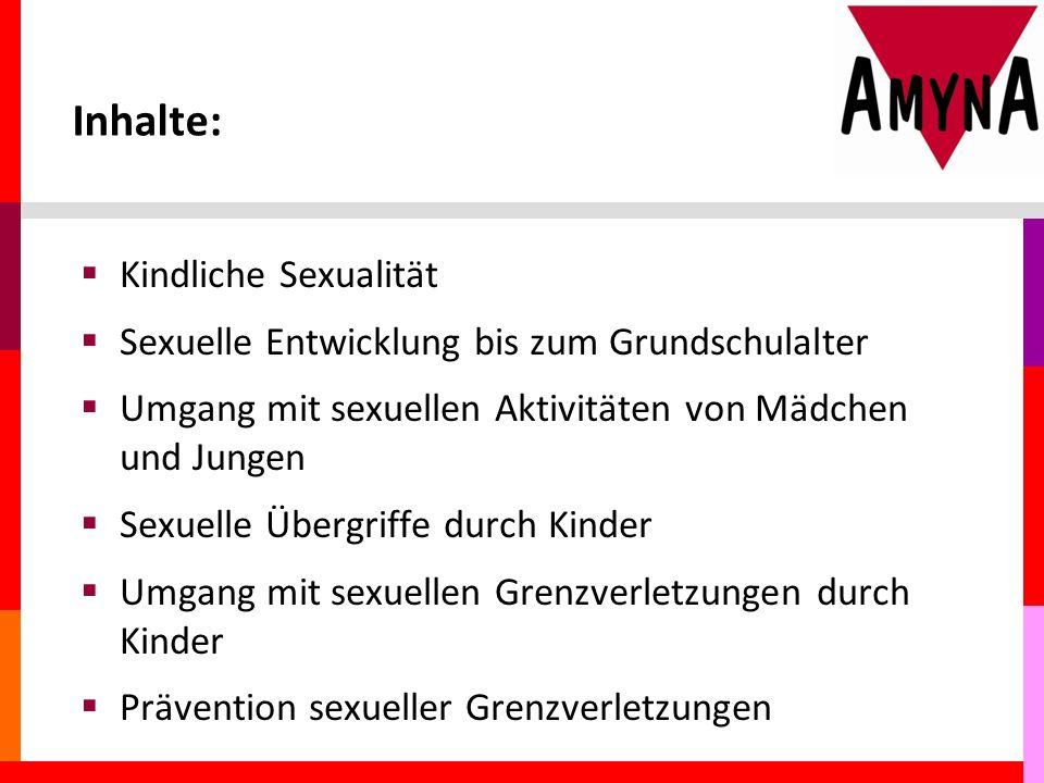 Inhalte: Kindliche Sexualität