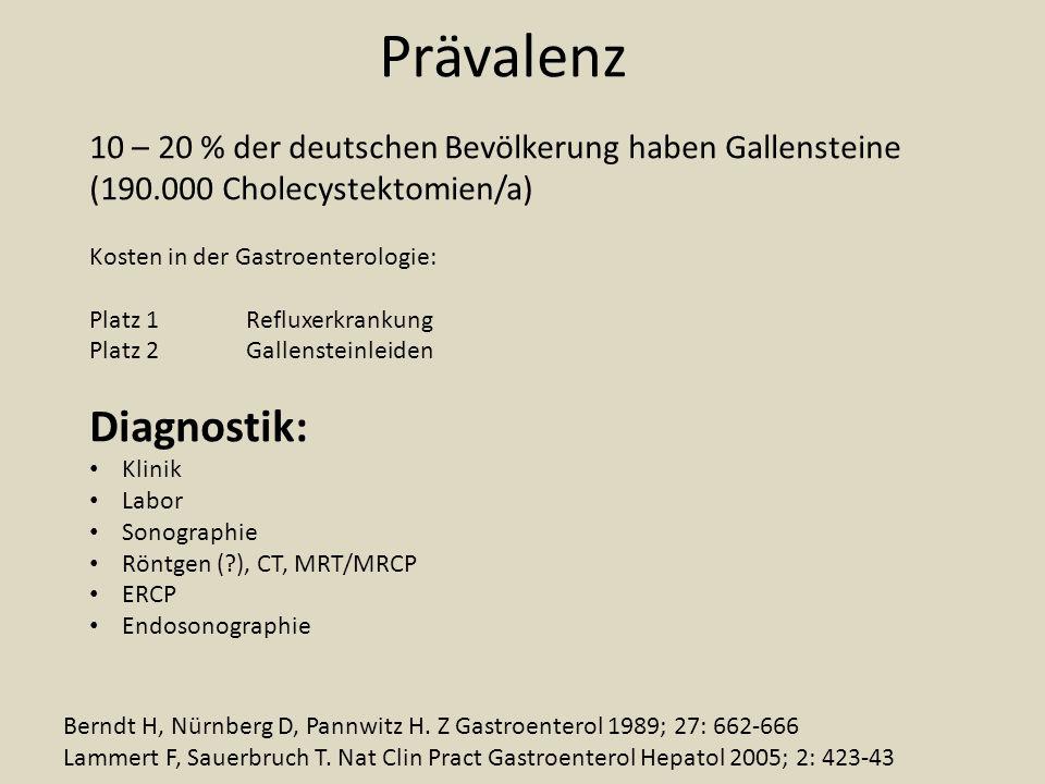 Prävalenz Diagnostik: