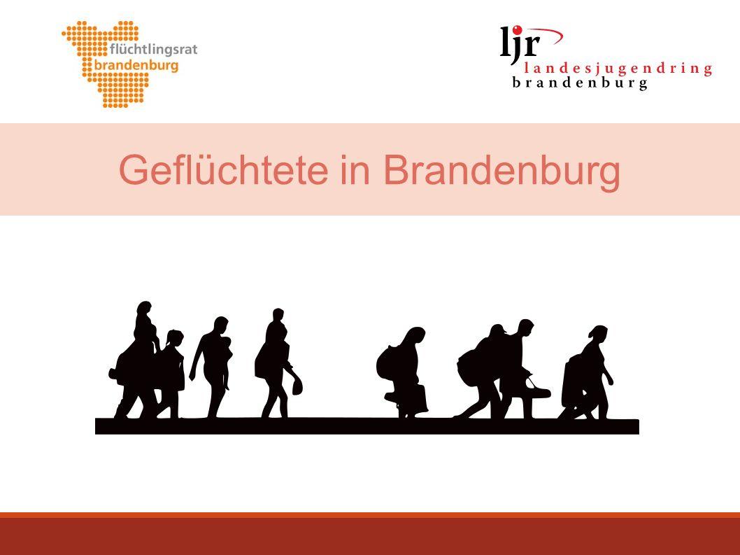 Geflüchtete in Brandenburg
