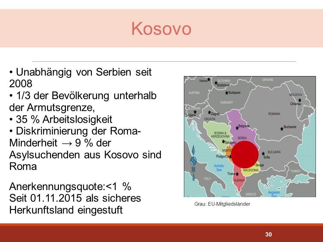 Kosovo Unabhängig von Serbien seit 2008