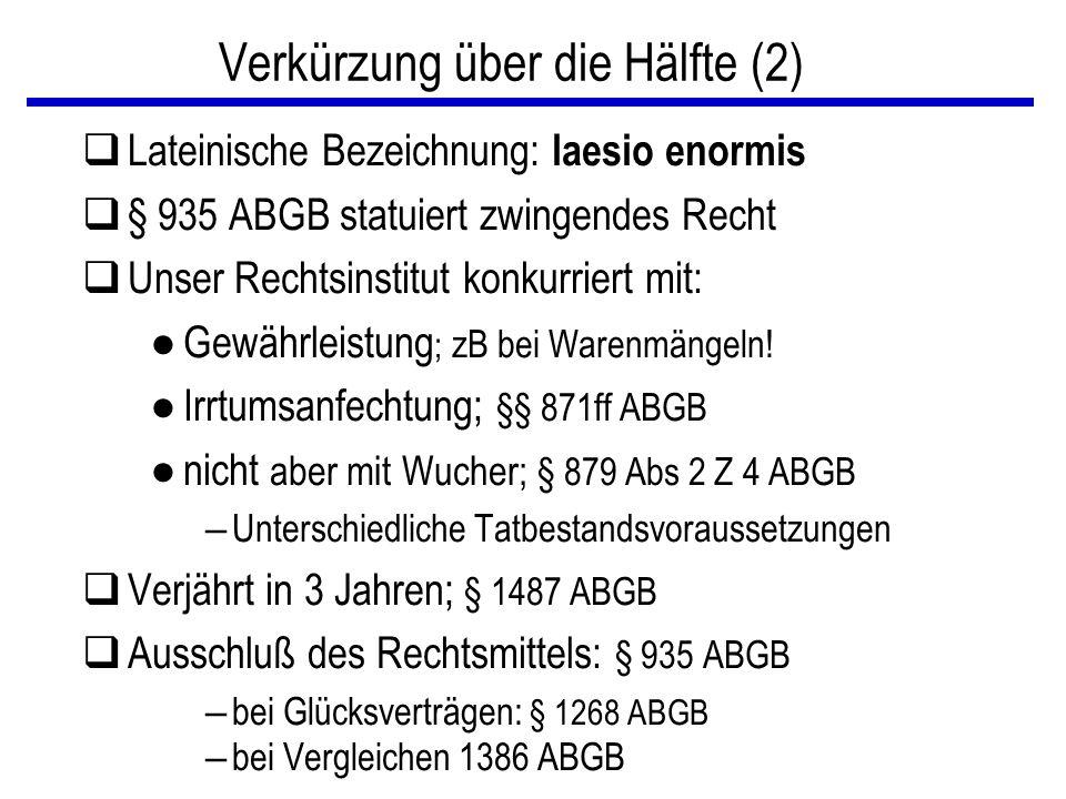 Verkürzung über die Hälfte (2)