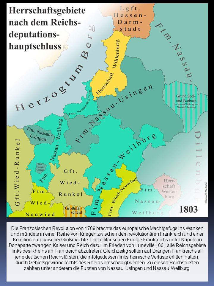 Die Französischen Revolution von 1789 brachte das europäische Machtgefüge ins Wanken und mündete in einer Reihe von Kriegen zwischen dem revolutionären Frankreich und einer Koalition europäischer Großmächte.