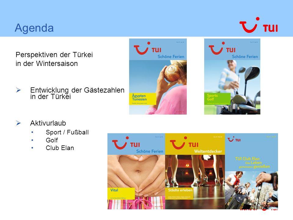 Agenda Perspektiven der Türkei in der Wintersaison