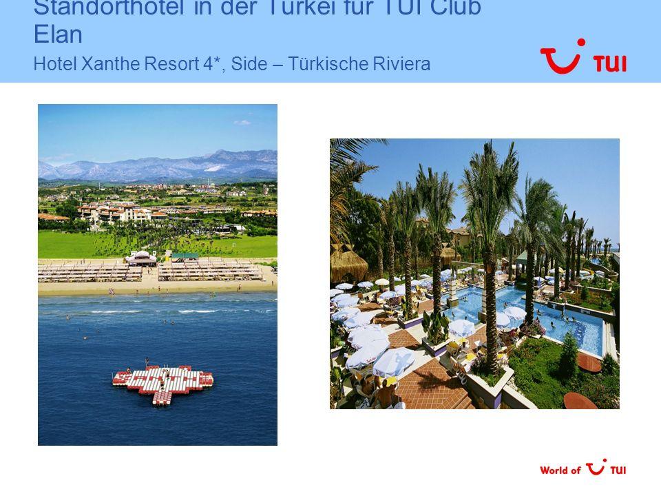 Standorthotel in der Türkei für TUI Club Elan Hotel Xanthe Resort 4