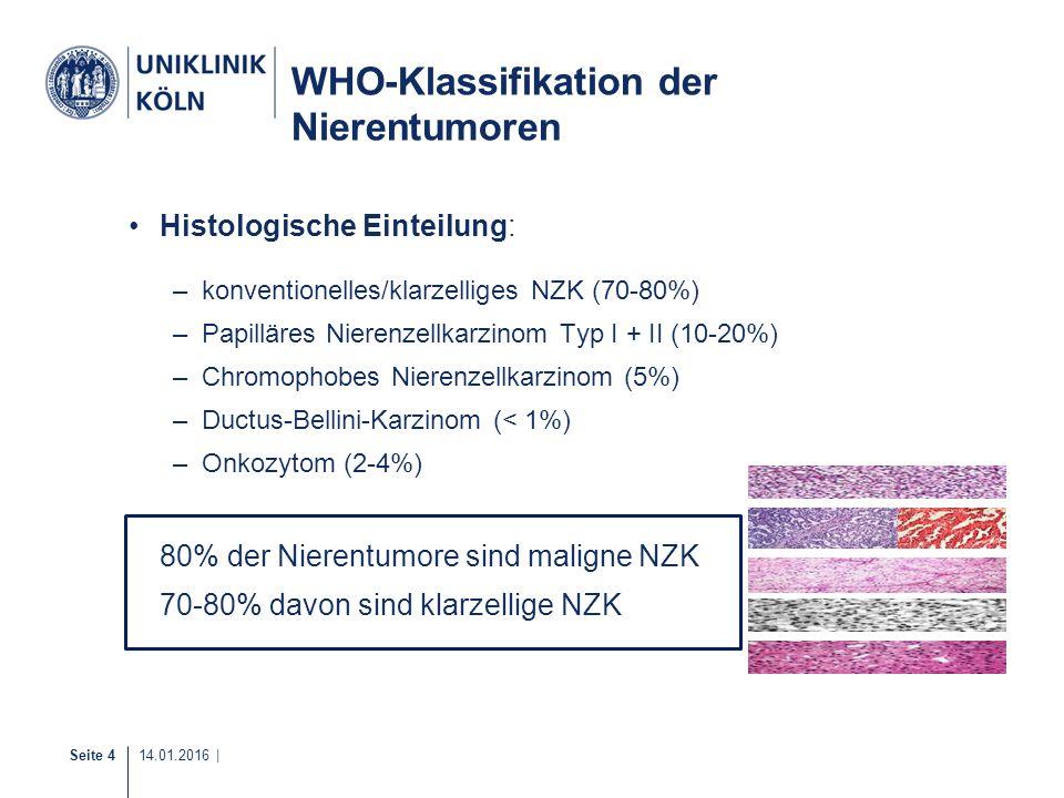 WHO-Klassifikation der Nierentumoren