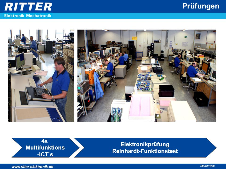 Elektronikprüfung Reinhardt-Funktionstest
