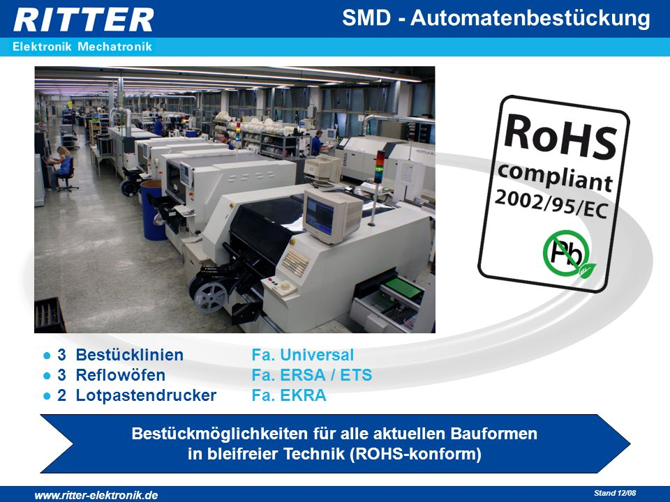 SMD - Automatenbestückung