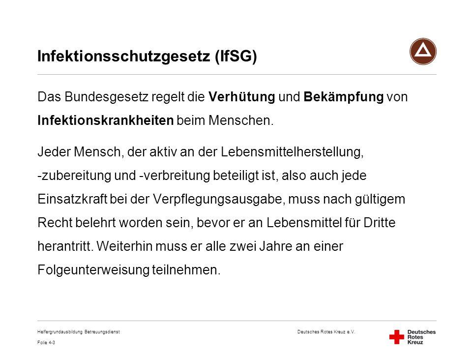 Infektionsschutzgesetz (IfSG)