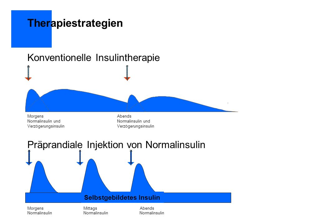 Therapiestrategien Konventionelle Insulintherapie