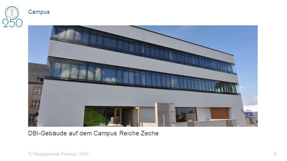DBI-Gebäude auf dem Campus Reiche Zeche